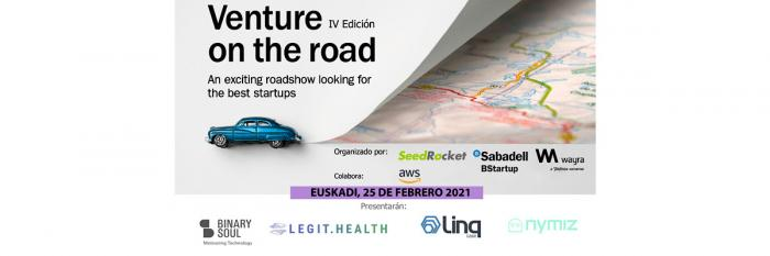 Finalistas Euskadi Venture on the road 2021