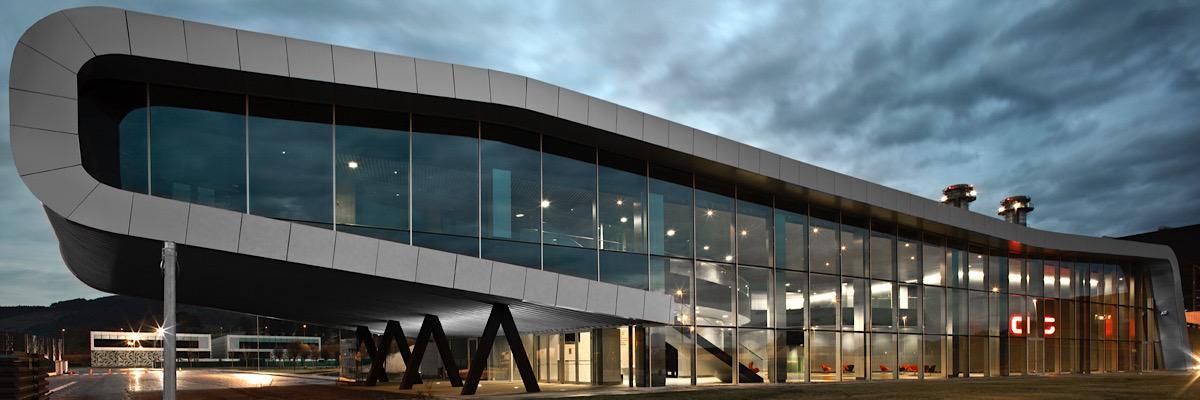 Sede del Automotive Intelligence Center en Boroa
