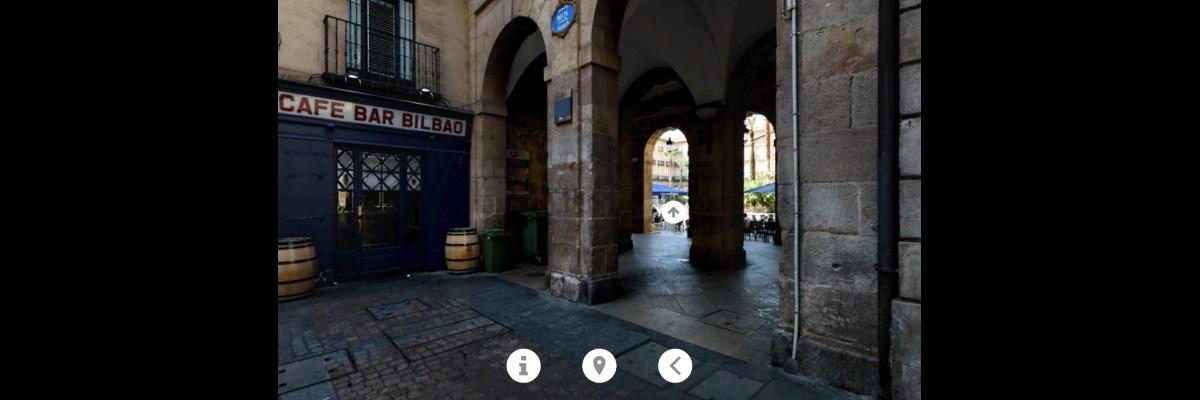 Bilbo VR, Entrada Plaza Nueva