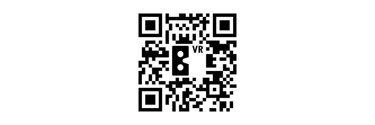 Bilbo VR, código QR para descargar app