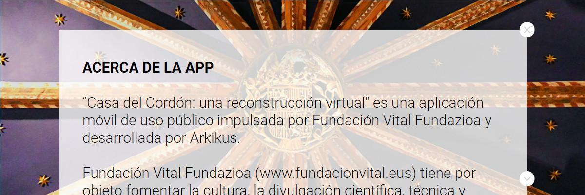 Casa Del Cordón app - Info