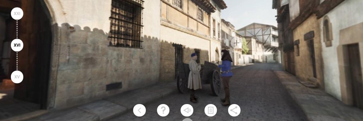 Casa Del Cordón app - Fachada XVI