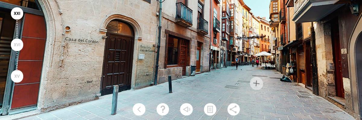 Casa Del Cordón app - Fachada XXI