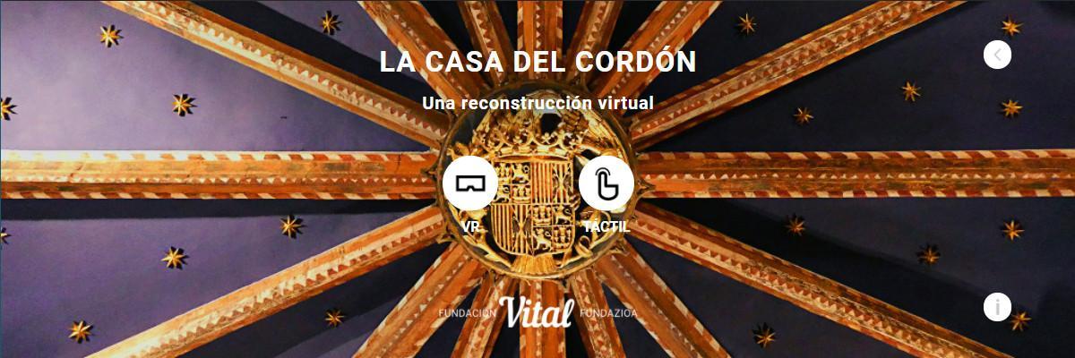 Casa Del Cordón app - Home