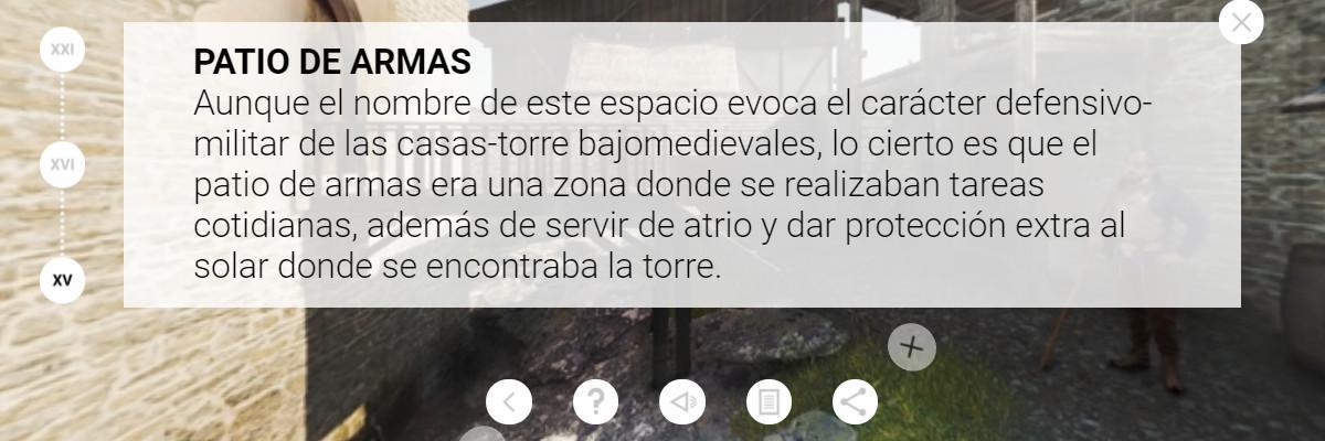 Casa Del Cordón app - Patio XV