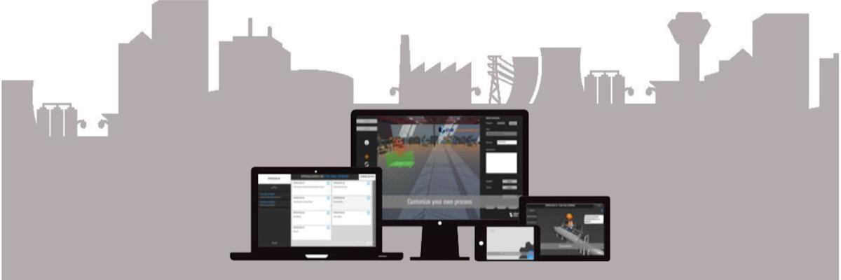 GTS es una potente herramienta de capacitación para procesos industriales