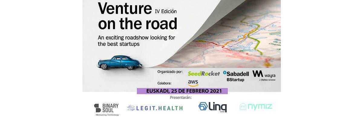 Finalistas Euskadi Venture on the road 2021