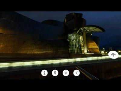 Bilbo VR - Museo Guggenheim - Noche