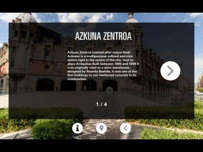 Bilbo VR - Descripción Azkuna Zentroa