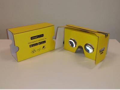 App Vívelo Gafas cardboard