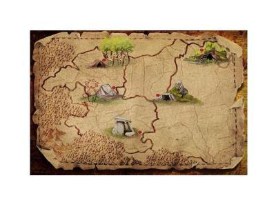 Sorginen Kondaira mapa