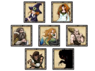 Sorginen Kondaira personajes